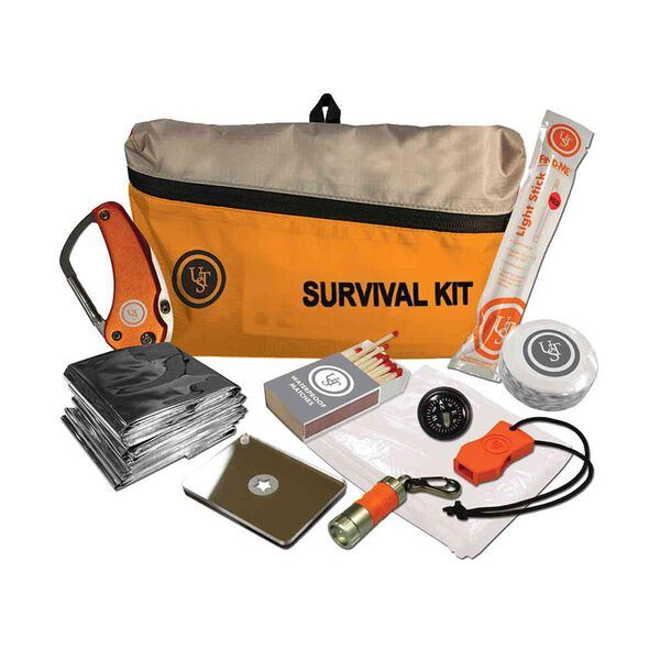 Ultimate Survival Technologies FeatherLite 10-Piece Survival Kit 2.0