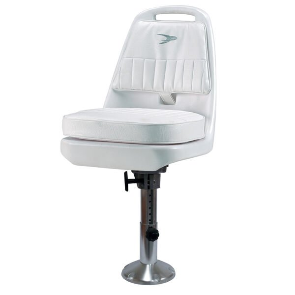 Wise Standard Pilot Chair With Adjustable Pedestal, Spider Mounting Plate