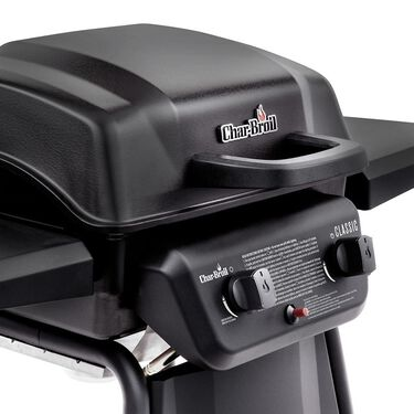 Char-Broil Classic 2 Burner Gas Grill, 20,000 BTU