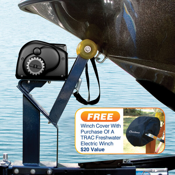 Trac Lite Cruiser Freshwater 10k Electric Trailer Winch With Cover