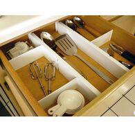 Plastic Kitchen Drawer Dividers, Set of 5