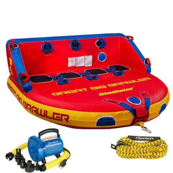 Gladiator Great Big Brawler 4 Package w/ Rope & Pump