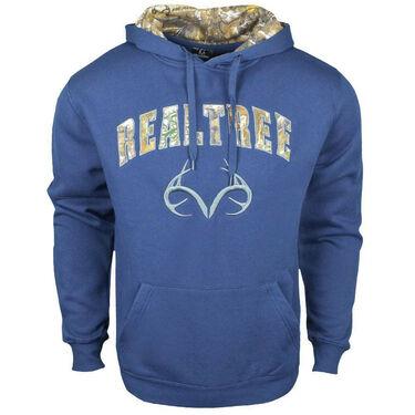 Realtree Men's Camo Logo Pullover Hoodie