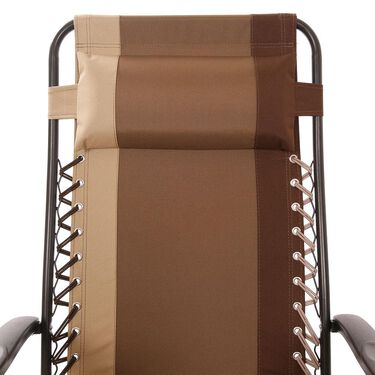 Tri-Blend Recliner, Brown