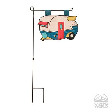 RV Wonder Garden Flag