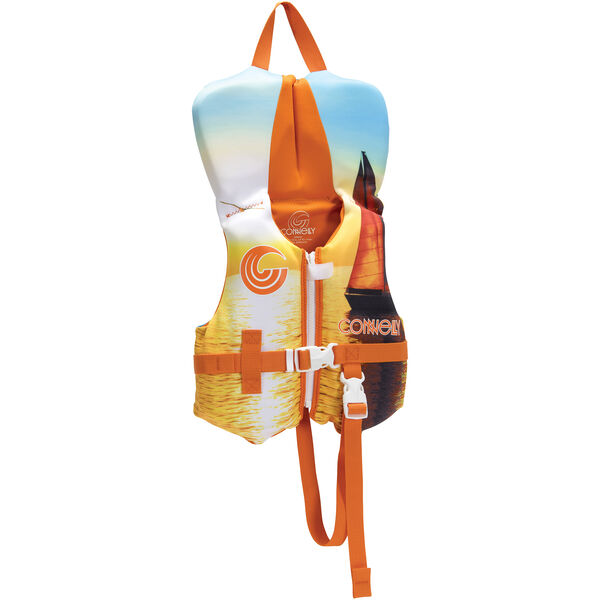 Connelly Infant Classic Neoprene Life Jacket, orange