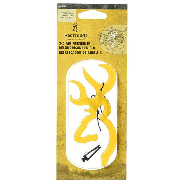 Browning 3-D Buckmark Air Freshener, Vanilla Scent