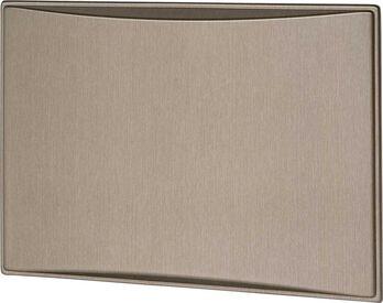 Americana & Americana Plus 7.5 & 8.0 CF Refrigerator Door Panels, Contoured - Brushed Roman Bronze