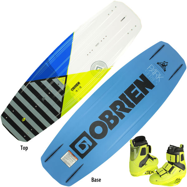 O'Brien SOB Wakeboard With GTX Bindings