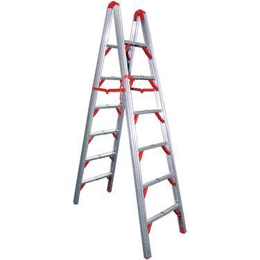 Telesteps 7' Double-Sided Aluminum Folding STIK Step Ladder