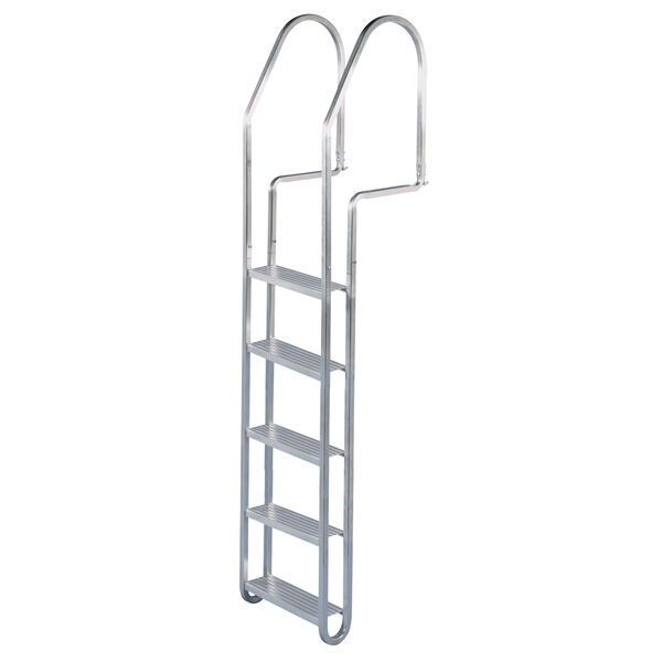 Dock Edge 5-Step Aluminum Dock Ladder with Quick Release