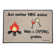 "Wine Drinker Mat, 18"" x 27"""