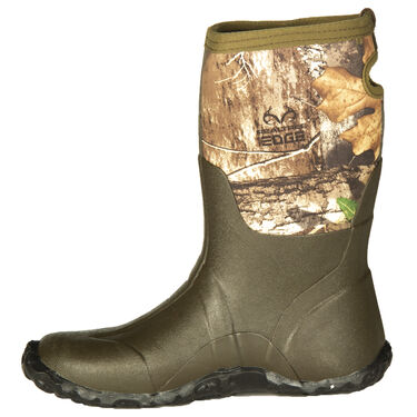 "Hunter's Choice Youth Surge 11"" Waterproof Hunting Boot, Realtree Edge Camo"