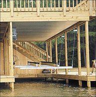Doozie Boat House 4000-lb. Cradle Kit