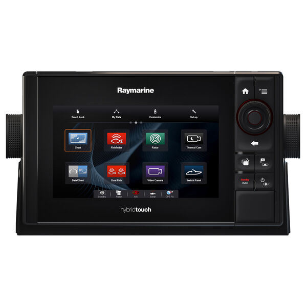 "Raymarine eS78 7"" MFD Combo With CHIRP/DownVision Sonar / N Amer Coasts + Lakes"