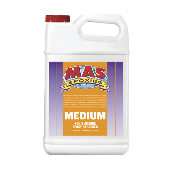 MAS Epoxies Medium Hardener, Half Gallon