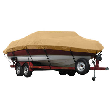 Exact Fit Covermate Sunbrella Boat Cover For CORRECT CRAFT SKI NAUTIQUE 2001 COVERS PLATFORM w/BOW CUTOUT FOR TRAILER STOP