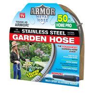 Armor Stainless Steel Garden Hose, 50'