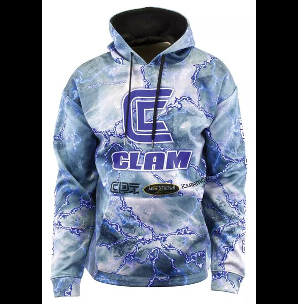 Clam Men's Icefishing Pro Hoodie
