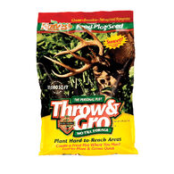 Evolved Harvest Throw & Gro No-Till Forage Food Plot Seed, 5 lbs.