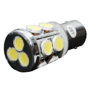 LED Multidirectional Radial Tower Bulb with BA15D Double Contact.