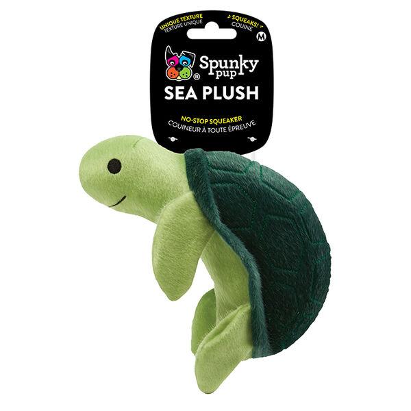 Spunky Pup Sea Plush Medium Turtle