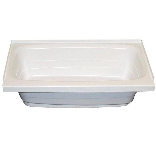 """24"""" x 36"""" LH Drain Tub - White"""