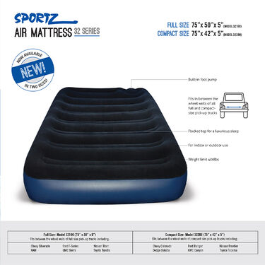 Sportz Air Mattress, Compact Size