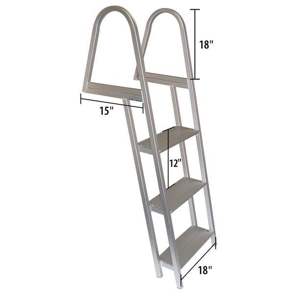 Dockmate 3-Step Stationary Dock Ladder