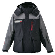 Trekker Jacket, black/gray