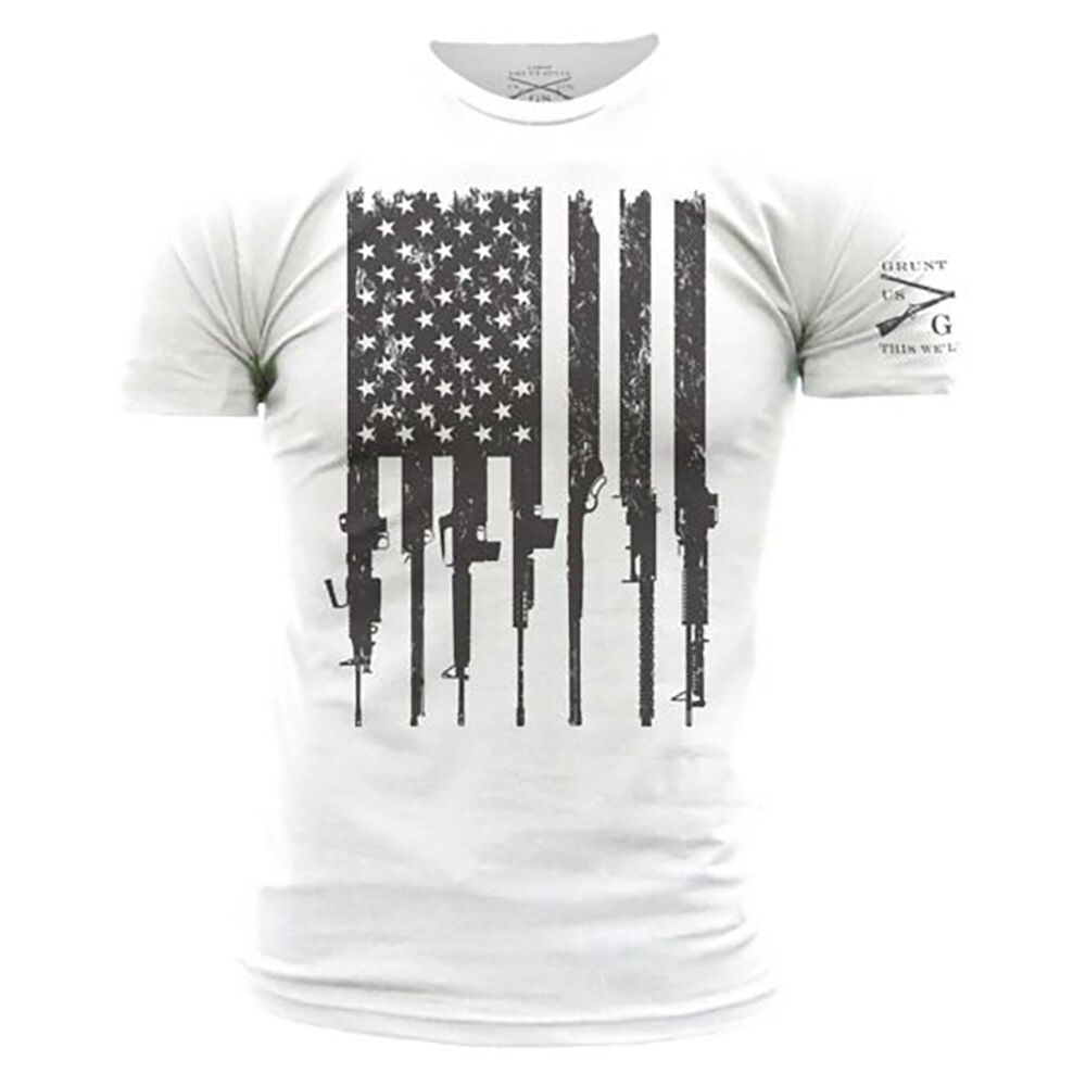 Black Grunt Style Mens Freedom Rider T-Shirt American Military