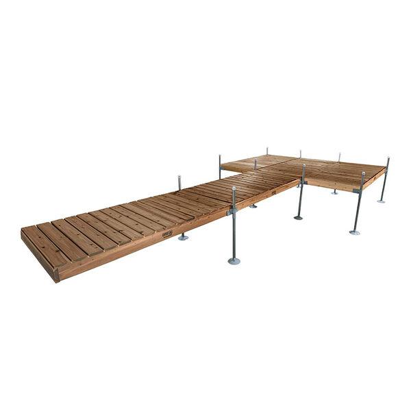 Tommy Docks 24' Platform-Style Cedar Complete Dock Package