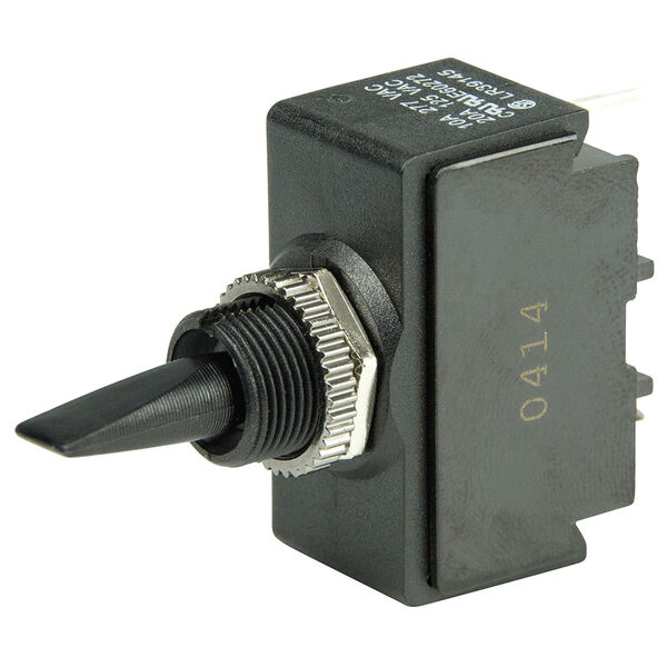 BEP Marine SPDT Toggle Switch, fits panels up to 1/8""
