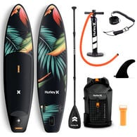 """Hurley Phantom 10' 6"""" Paradise Inflatable Stand-Up Paddleboard Package"""