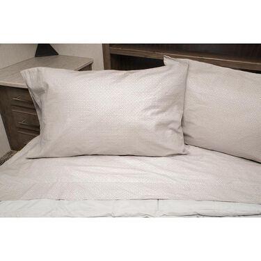 100% Cotton Sheets, Queen, Gray