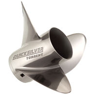 Quicksilver Torrent 3-Blade Modular Prop / Stainless 14.625 dia x 21 pitch RH