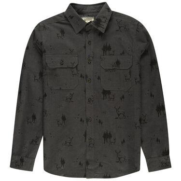 Ultimate Terrain Men's Explorer Chamois Shirt with Canvas Patch