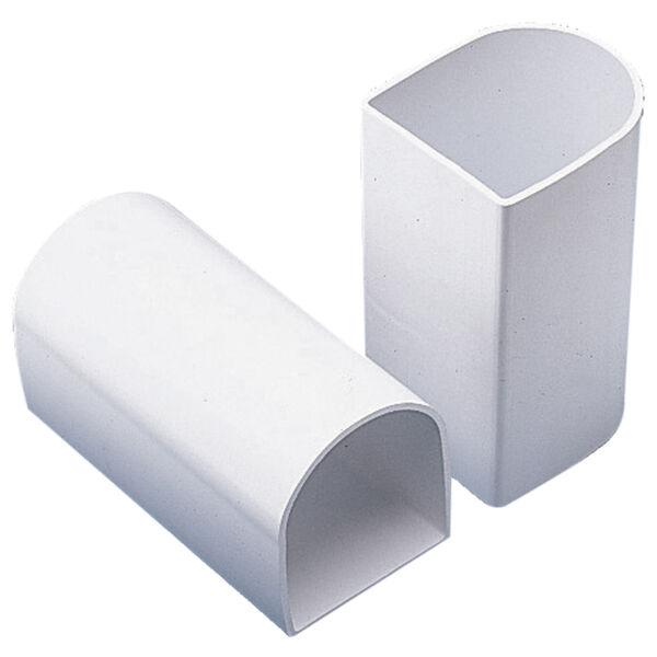 """Dock Edge Premium PVC Profile Large """"P"""" Connectors, 2-Pack"""