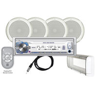 "Dual MCP1054S USB/MP3/WMA Media Receiver With Four 6.5"" Speakers"