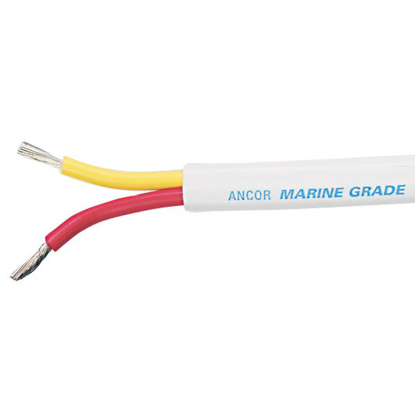 Ancor Safety Duplex Cable, 18/2 AWG, Flat-100'