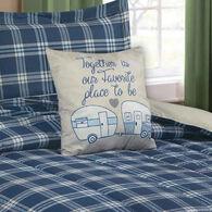 """Together Pillow, Tan, 16"""" x 16"""""""