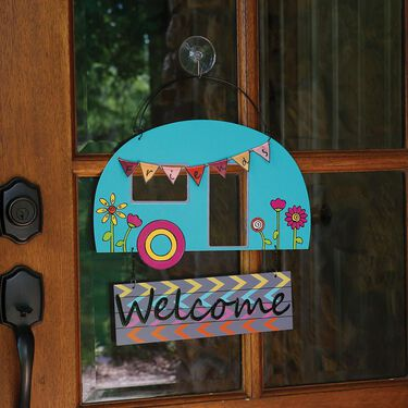 Welcome Friends Garden Hanger