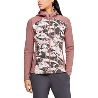 Under Armour Women's ColdGear Reactor Hybrid Lite Printed Jacket