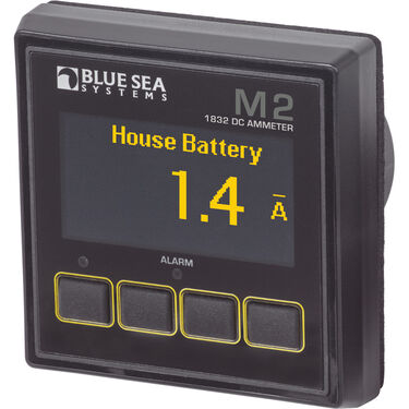 Blue Sea Systems M2 DC Ammeter OLED Digital Monitor
