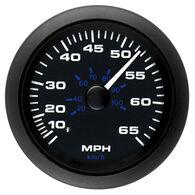 """Sierra Black Premier Pro 3"""" Speedometer, 65 MPH"""