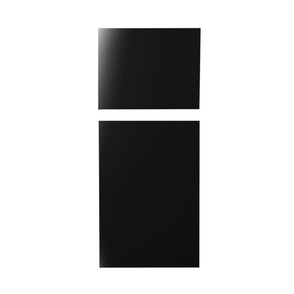 Furrion Arctic Refrigerator Door Panels, Gloss Black
