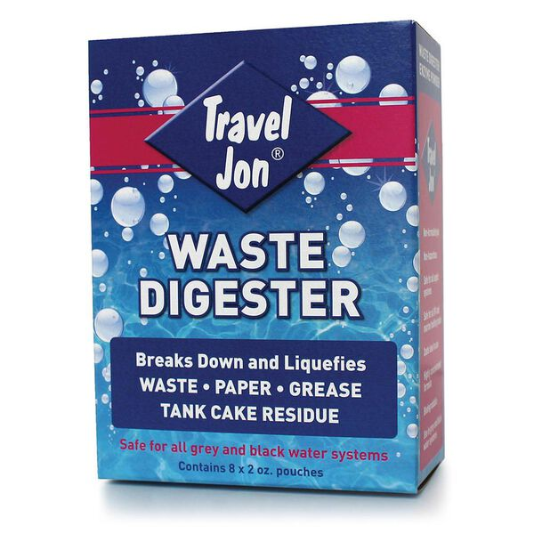 Travel Jon Waste Digester