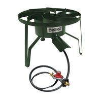 Bayou Classic Vortex Flame Dual Jet Cooker, Limited Edition Moss Green