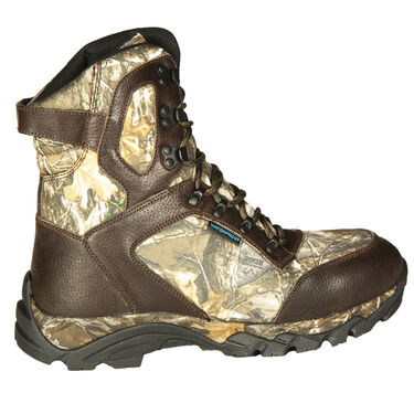 "Ducks Unlimited Men's Crucial 9"" 1,000g Insulated Hunting Boot, Realtree Edge Camo"
