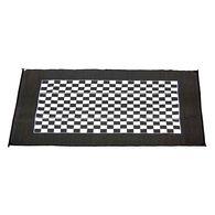 Checkered Racing Patio Mat, 9' x 12'